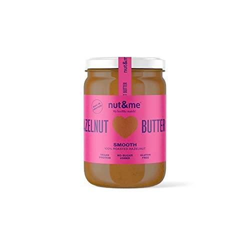 Crema de avellanas tostadas 330 gramos nut&me | 100%...
