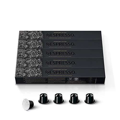 Nespresso - Set de 50Cápsulas -5x 10cápsulas de...