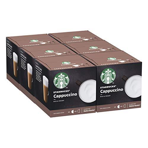 STARBUCKS Cappuccino De Nescafe Dolce Gusto Cápsulas De...