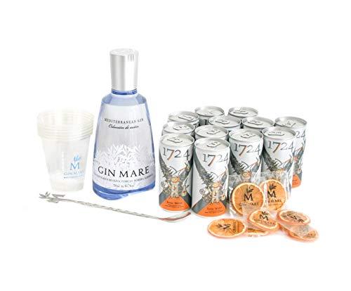 Gin Mare Home Bar (Ginebra 700 ml + 12 Tónicas Premium...