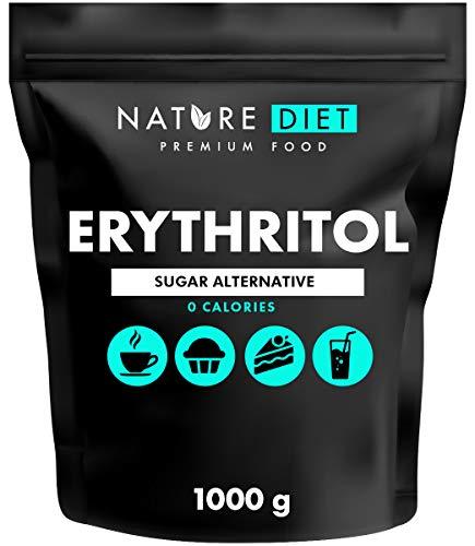 Nature Diet - Eritritol 1000g   Edulcorante natural   Cero...