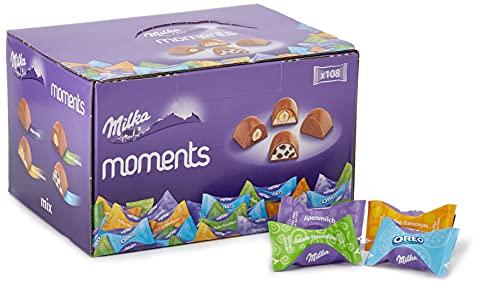 Milka Moments Chocolatinas De Tierno Chocolate Con Leche De...