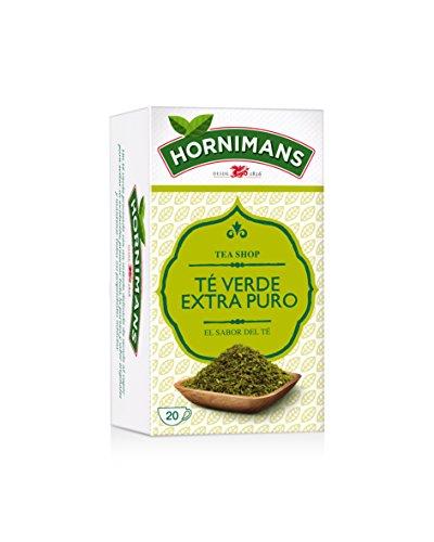 Hornimans Té Verde Téverde Bolsitas de Té Puro Tea Shop,...