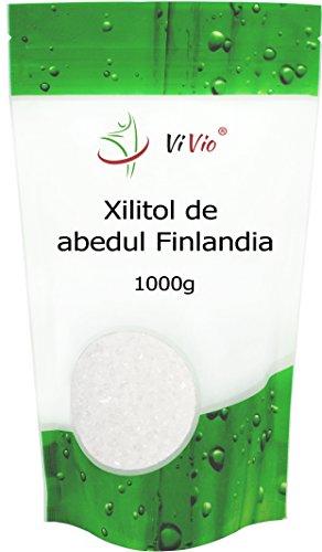 Azucar de Abedul Vivio. Xilitol Genuino de Finlandia. 100%...