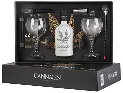 Estuche Cannagin 70cl Ginebra Premium con Aroma de Cannabis