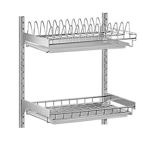 Shelf Estante-304 Acero Inoxidable montado en la Pared Plato...