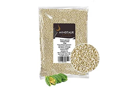 Minotaur Seeds | Sésamo blanco descascarillado | Semillas...