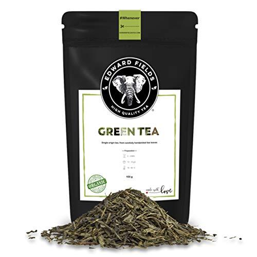 Edward Fields Tea ® - Té verde orgánico a granel de...