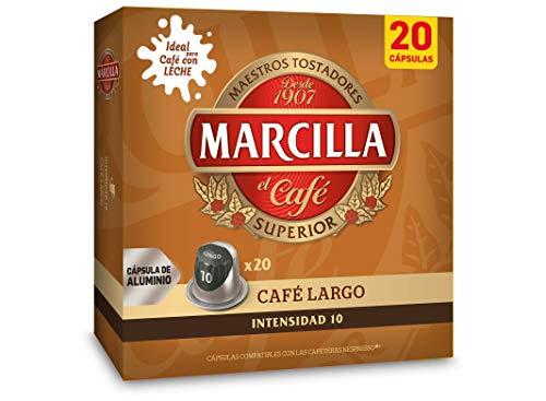 Marcilla Café Largo - 200 cápsulas compatibles con...