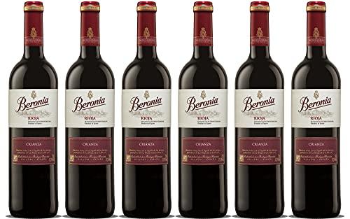 Beronia Crianza - Vino D.O.Ca. Rioja - 6 botellas de 750 ml...