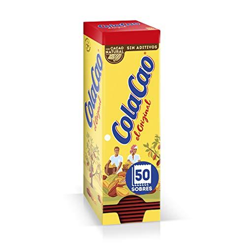 ColaCao Original: Con Cacao Natural - 50 Sobres De 18G...