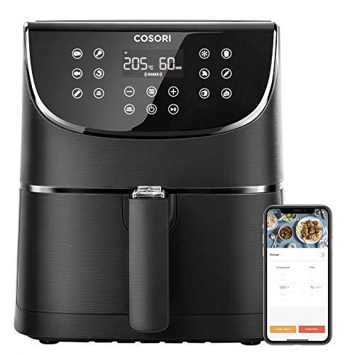 COSORI Smart - Freidora de aire caliente con WiFi (5,5 L,...