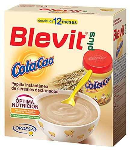 Blevit Plus ColaCao - Papilla de Cereales para Bebé con...