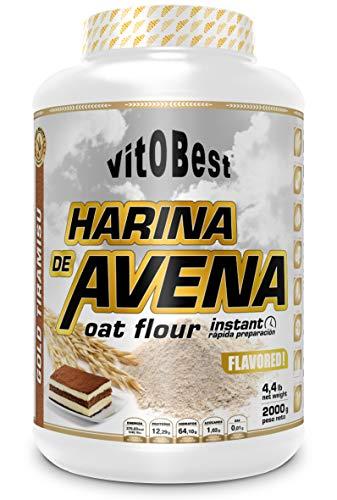 Harina de Avena Sabores Variados - Suplementos Alimentación...