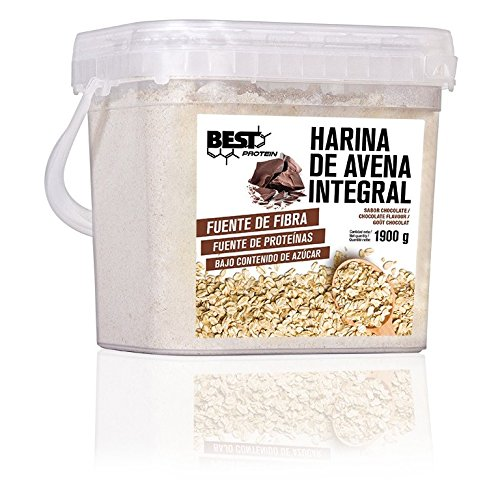 Best Protein Harina de Avena Integral - 1900 gr (Chocolate)