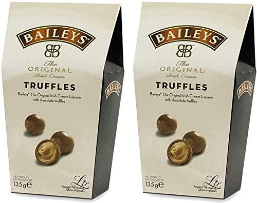 Baileys Irish Cream Twist Wraps Trufas de chocolate con...