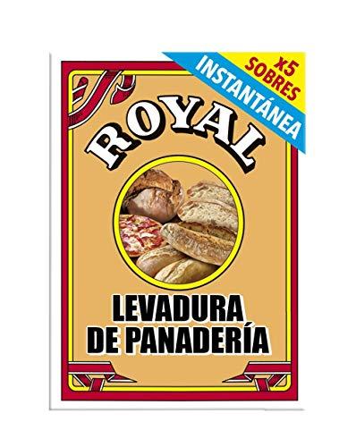 Royal Levadura de Panadería Instantánea en Formato Polvo 5...