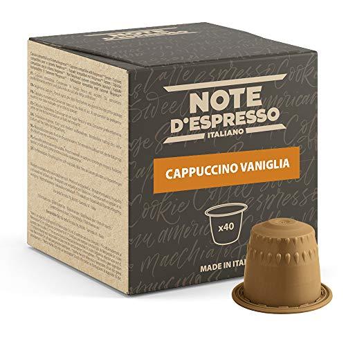 Note d'Espresso - Capuchino Vainilla - Cápsulas compatibles...