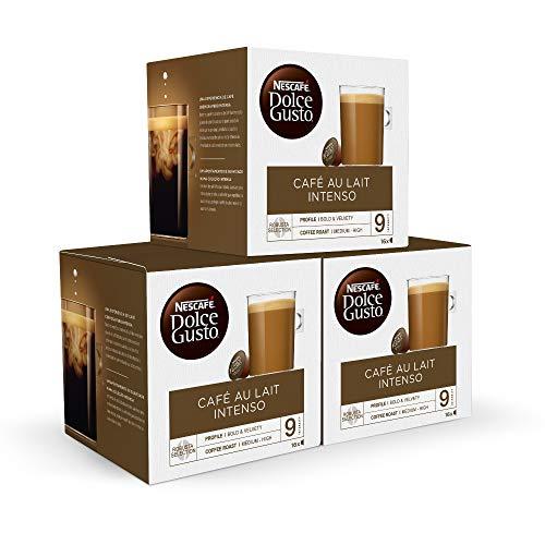 Nescafé DOLCE GUSTO CAFÉ CON LECHE INTENSO - Pack De 3 x...