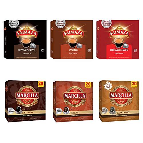 Paquete de cápsulas de café Marcilla - Cápsula de café...