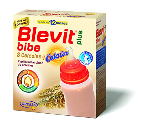 Blevit Plus Bibe 8 Cereales y ColaCao - Papilla de Cereales...