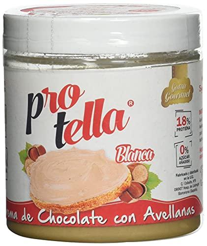 Protella Crema de Chocolate Blanco con Avellanas, 250g