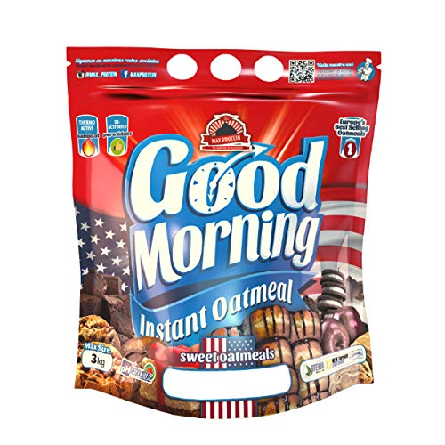 Max Protein Good Morning Instant Oatmeal - 3 kg NutChoc...
