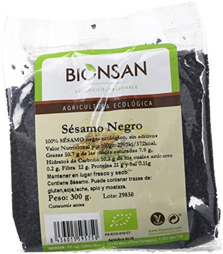 Bionsan Sésamo Negro de Cultivo Ecológico | Semillas de...