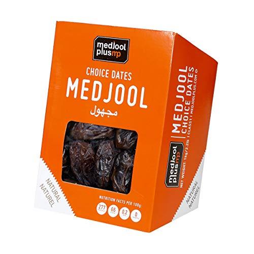1 kg Medjool Dátiles jugosos y tiernos, talla grande en...