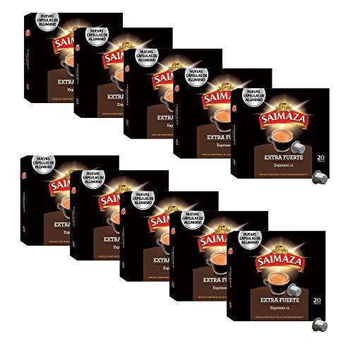 Saimaza Café Extra Fuerte Espresso 11 - 200 cápsulas de...