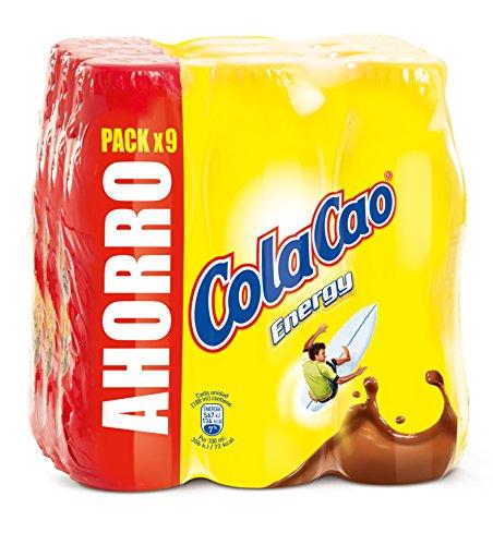 ColaCao - Batido ColaCao Energy - Pack de 9 x 188 ml