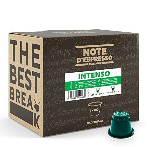 Note d'Espresso - Intenso - Cápsulas de Café - Compatibles...