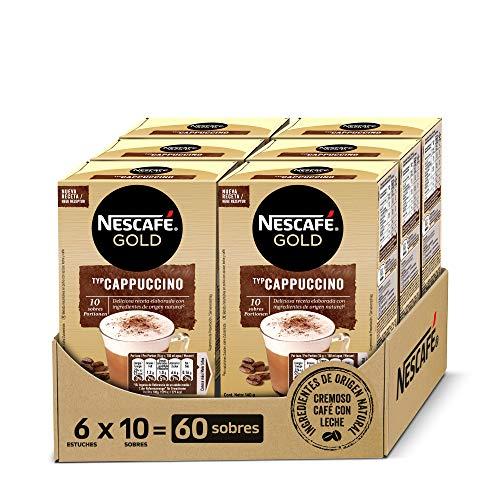NESCAFÉ GOLD CAPPUCCINO NATURAL, cremoso café soluble con...