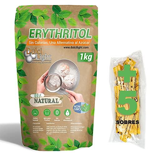 DULCILIGHT Eritritol 1 Kg 100% Natural Edulcorante Cero...