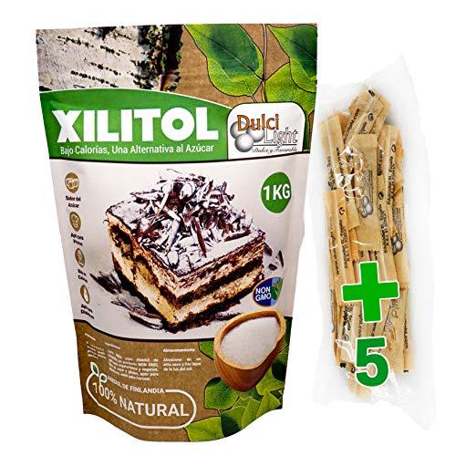 DULCILIGHT Xilitol Edulcorante 100% Natural 1 Kg Origen...