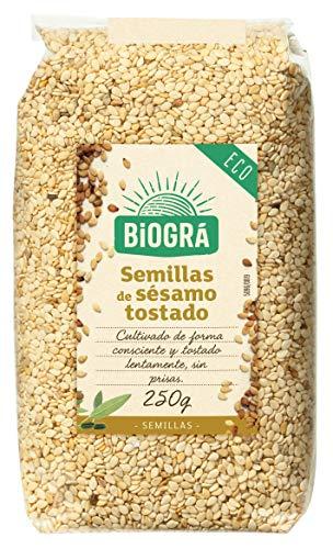 Biográ - Semillas de Sésamo Tostado Ecológicas (250 g)