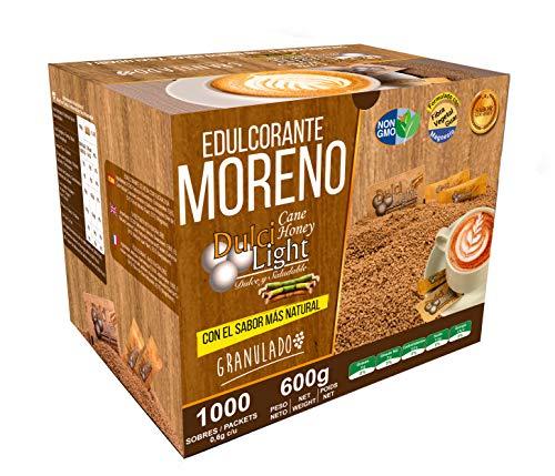 EDULCORANTE MORENO DULCILIGHT 1000 Sobres, Natural Granulado...