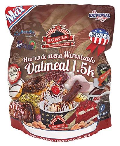 Max Protein Oatmeal Harina De Avena, Donut, One size,...
