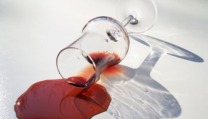 Eliminar manchas de Vino Tinto La Alacena de Rosario